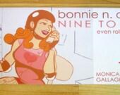Roller Derby Comic Bonnie N. Collide, Nine to Five - Book 1