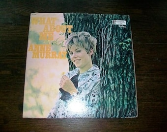Anne Murray Record Album What About Me Vintage Vinyl SPC-3350 1970s