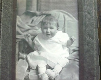 Vintage Photograph of Adorable Baby 1940s Picture