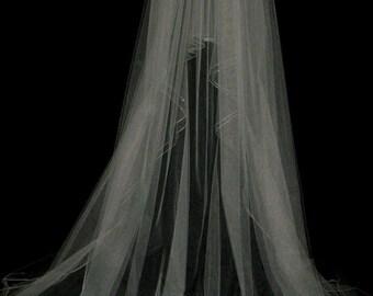 Couture bridal or wedding veil - Georgie