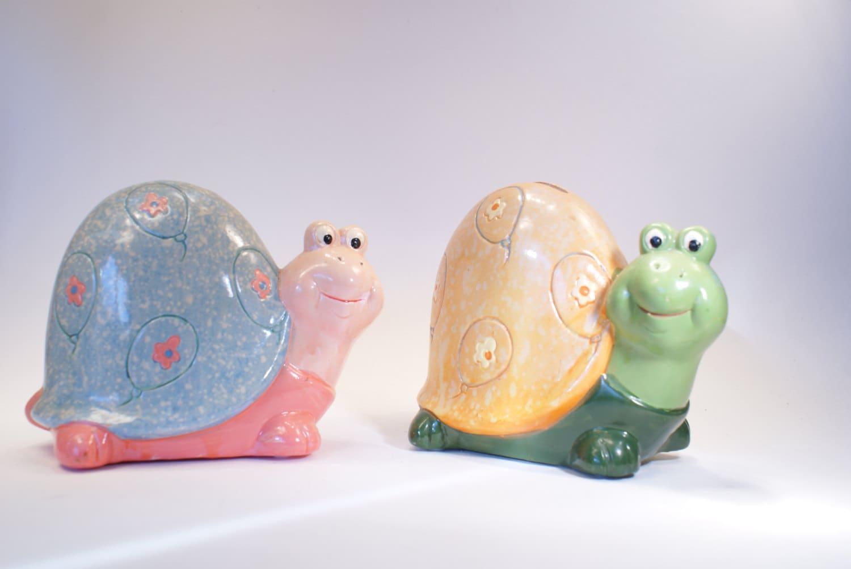 Piggybank kids piggy banks turtles piggy bank set for Childrens piggy bank