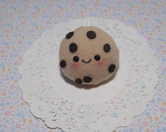 Kawaii Chocolate Chip Cookie Plush Charm-Plush-Kawaii-squishy-Kawaii squishy-Chocolate Chip Cookie-Toy-Brown