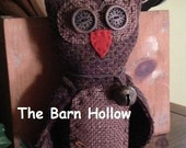 PAPER PATTERN - Oliver The Barn Owl