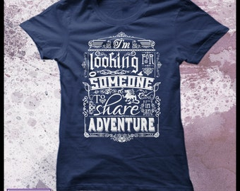 The Hobbit t shirt Help wanted - Women's Decorative typography movie t shirt