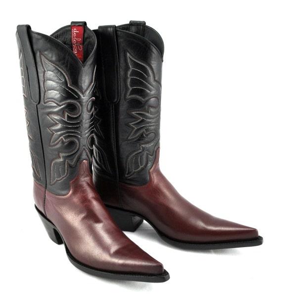 CUSTOM - The RIOJA Mod Western Cowboy Boot - classic cowboy meets fashion-forward versatility