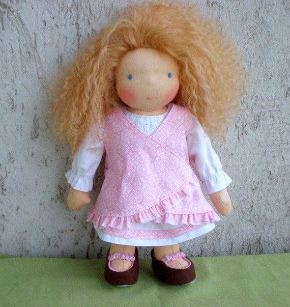 FINAL PAYMENT FOR  A      Waldorf Doll -12""