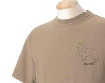 Belgian Tervuren Stacked Garment Dyed Cotton T-shirt