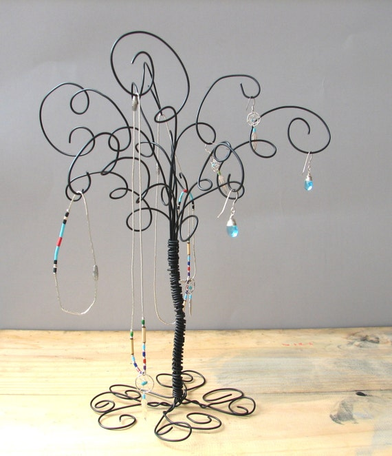 Jewelry organizer tree stand earring ringsbracelets for Organiser un stand