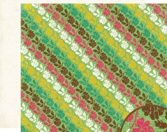 Scrapbook Paper Crate Cottage Collection - Rose Garden 12x12