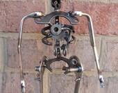 Mechso-Skeleton, Recycled Metal Sculpture