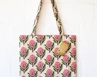 Pretty Proteas Tote Bag