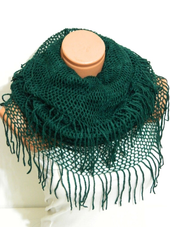 Knitting Machine Scarf Pattern : knitting machine infinity Scarf Block Infinity Scarf. Loop