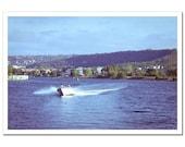 Summer Photography 8x12, Sea Travel Photo, Fishing, Marine Nautical Seaman Photograph, blue aquamarine