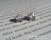 Sirius Genuine Swarovski Crystal Sterling Silver Stud Earrings