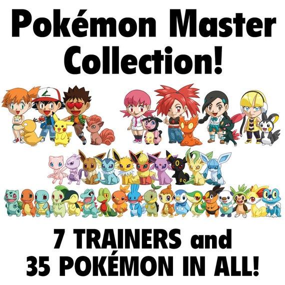Pokemon Master Collection (Mix and Match Chibi Magnets)