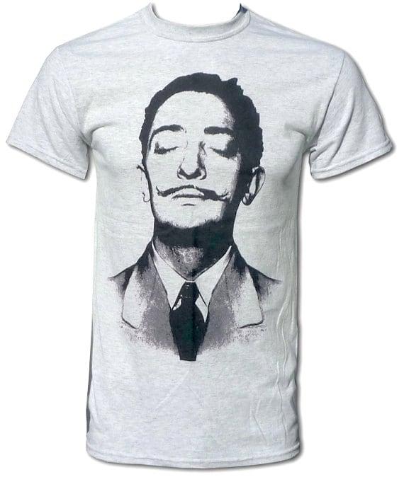 Salvador Dali Cool Retro Unisex Pop Art T Shirt By