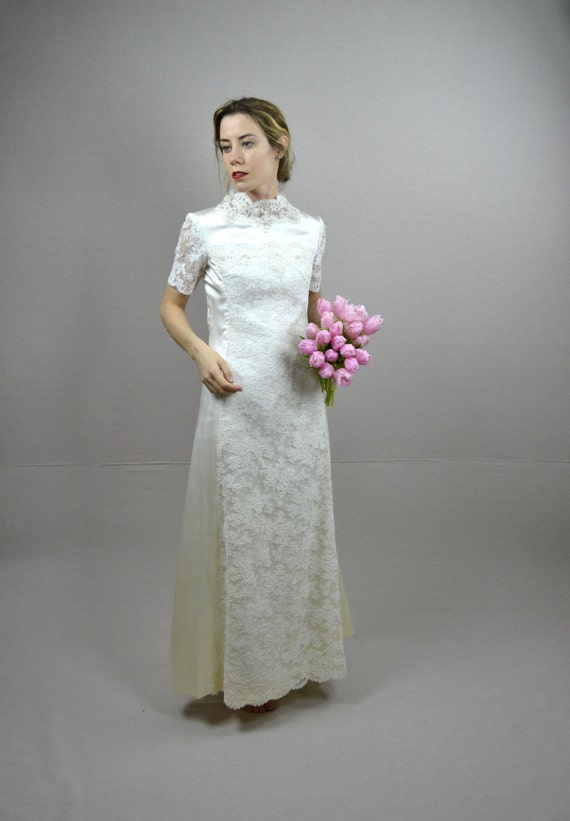 Reserved for melissa 60s wedding dress by breannefaouzi for How to ship a wedding dress usps