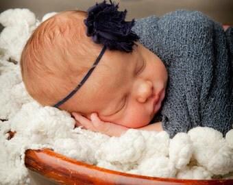 Headband, Baby Headbands, Newborn Headband, Navy Headband, Baby Bows Headband, Baby Bow, Navy and Red Bow, 4th of July Headband, Baby, Bow