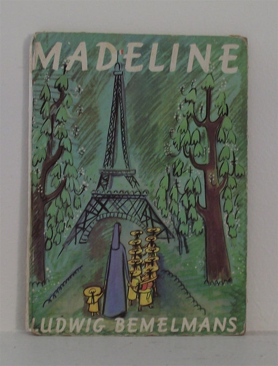 Madeline Book Hard Cover Madeline Book by kickinitoldskool