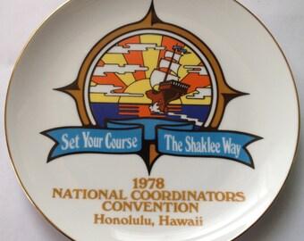 1978 Vintage Hawaii Plate