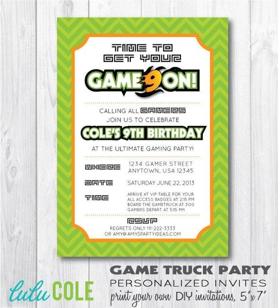 Truck Birthday Invitation was perfect invitation design