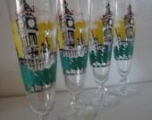 Retro Big Ben Fluted Glassware
