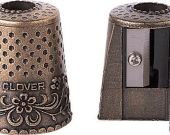 Pencil Sharpener, Quilt Pencil Sharpener, Clover USA Quilting Sewing