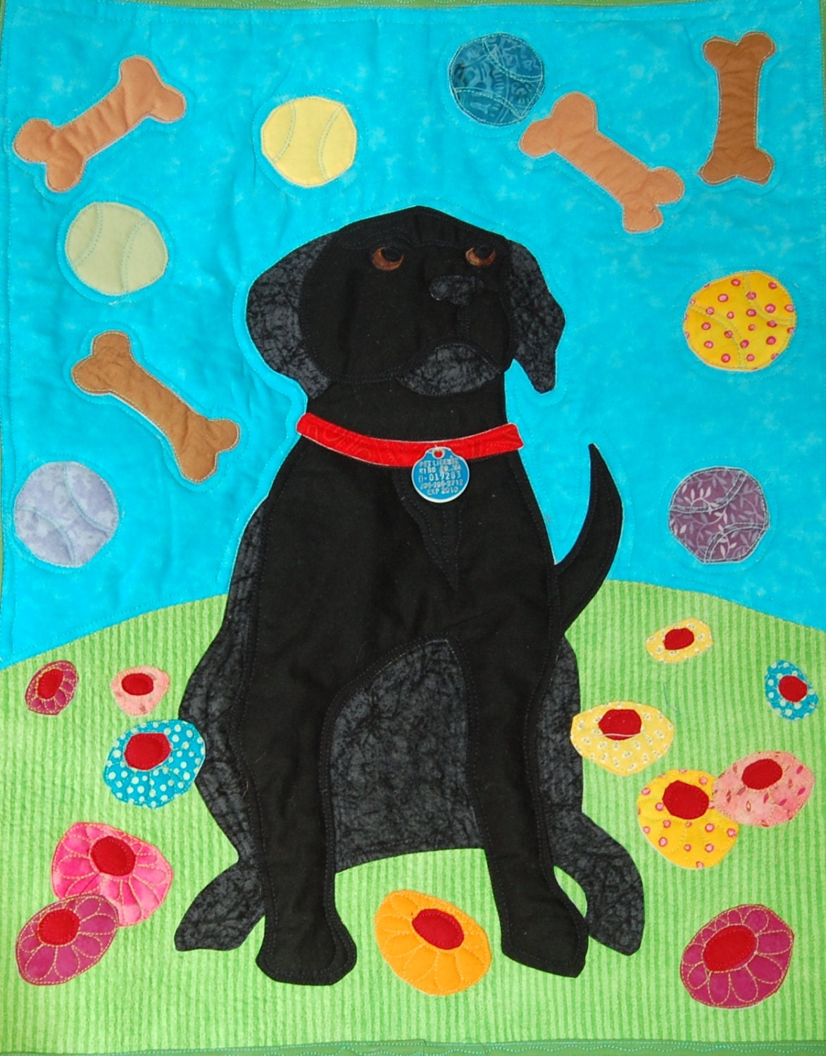 One Dog S Daydreams Black Lab Quilt Pattern Designed By