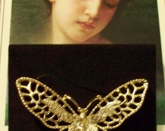 1960s Madame Butterfly Brooch Pin - 6442 - Vintage - Sarah Coventry - Original Box