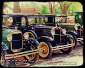Model A Fords - Fine Art Photo - Gift for Guys -  Model A Ford - Retro - Americana - Office Decor - Vintage Fords - Wall Art - Gift for Men