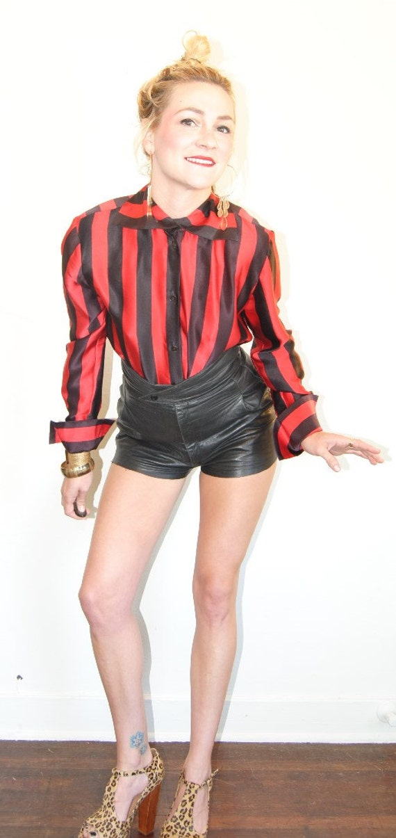 black and red striped shirt long sleeve eBay