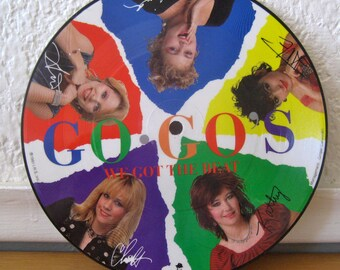 Go Gos Record - We Got The Beat Picture Disc - Limited Edition 7 inch Single - 1982