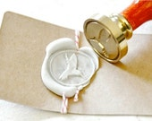 B20 Wax Seal Stamp Hummingbird Bird