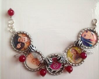 Custom  Bottlecap Bracelet