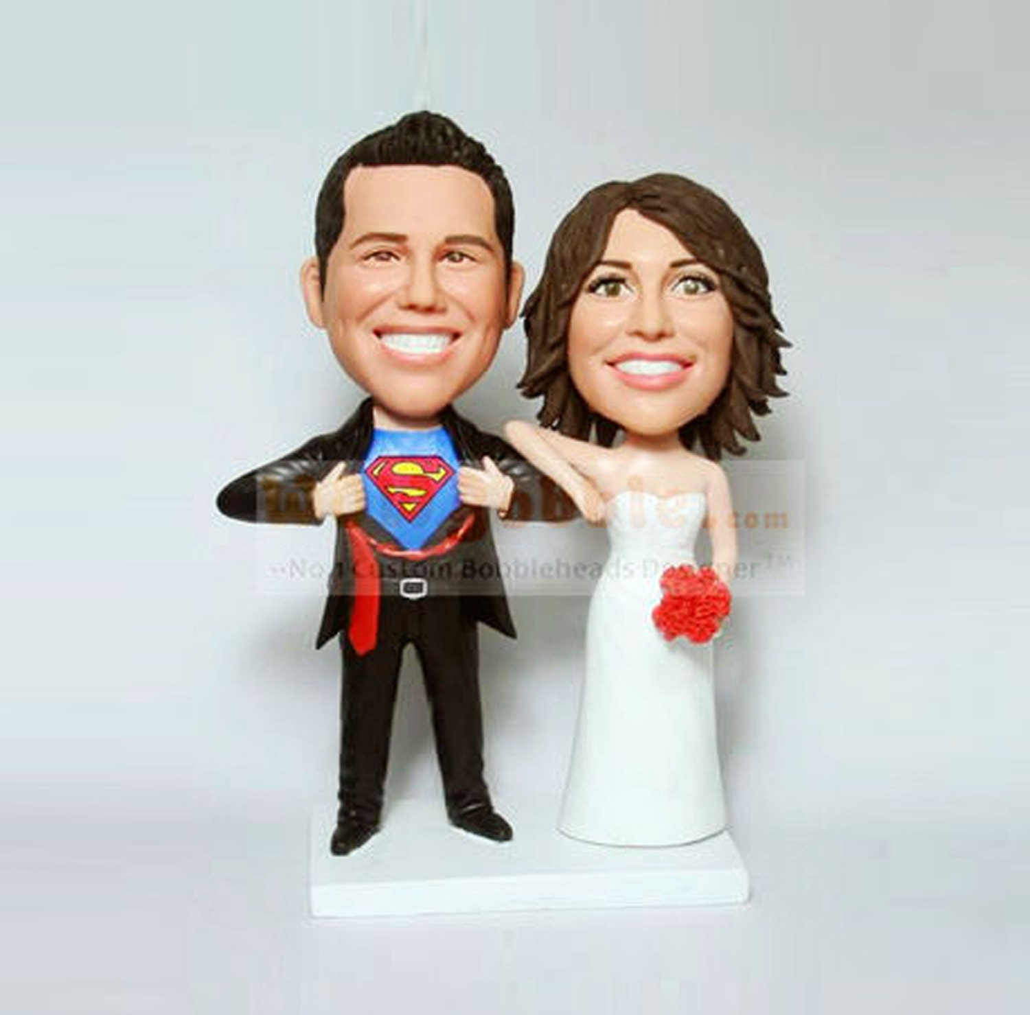 Superman Wedding Cake Toppers Viewing Gallery