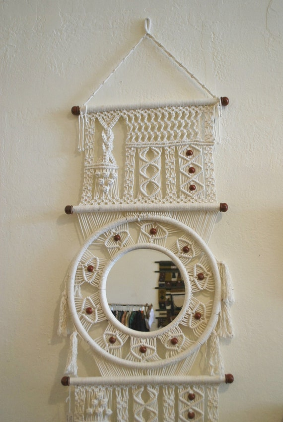 Macrame Wall Hanging By Mascotvintage On Etsy