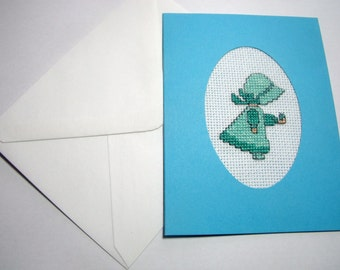 Greeting Card. Cross Stitch Cards For All Occasions. Holly Hobby.  CLEARANCE SALE