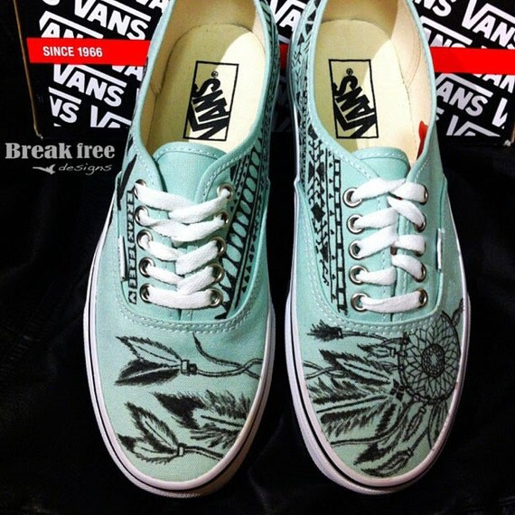 Dream Catcher Vans Shoes