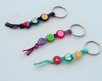 Fruity Hemp Key Chains