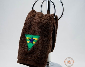 "Firefly and Serenity ""Browncoats"" Inspired - Embroidered Hand Towel"