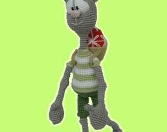 Amigurumi Crochet Pattern Emma the Emu