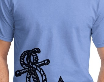 Mens Anchor t Shirt