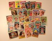 Garbage Pail Kids Trading Cards (Lot of 30) 80s