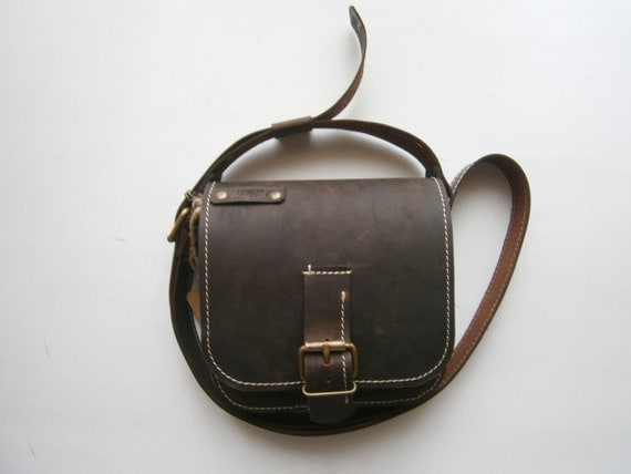 Kokoon Crossbodyl Leather brown bag, Genuine Leather Bag, Man Bag, Man Crossbody, Woman Crossbody, Crossover Bag, Handmade