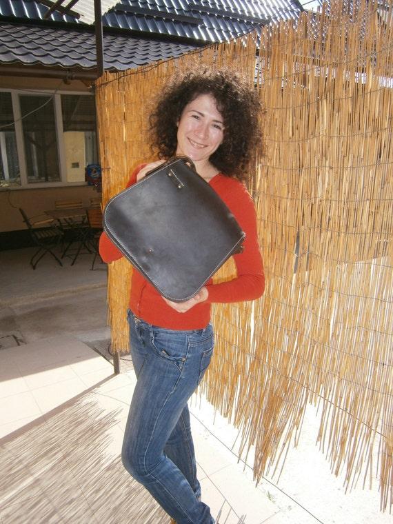 Messenger Bag,Leather Satchel,  Leather Messenger Bag, Casual Bag, Genuine Leather Bag, Raw Bag, Handmade Bag