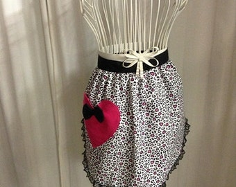 Popular items for leopard print apron on Etsy