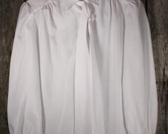 Vintage Women's Silkhana 70's Shirt w/ Orginal Bow