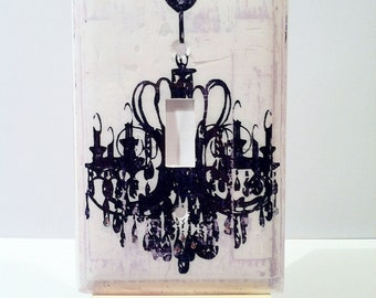 Chandelier Wall Light With Switch : Decorative Chandelier Light Switch Cover - Wall Decor
