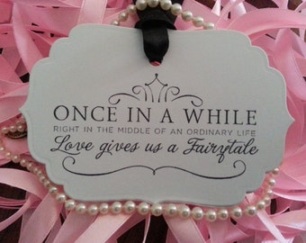 200  Wedding Wish Tree Tags Fairytale Weddings
