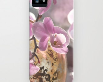 iPhone Case - 5 4 4s 3g 3gs - Soft Pink Orchid - soft - fiminine - blossom - flower - flowered - floral - pink